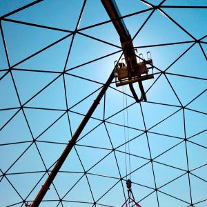 Geodesic dome 30 m